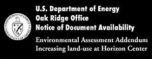 WE NEED TO ACT NOW: DOE seeks public input on Environmental Assessment Addendum at Horizon Center