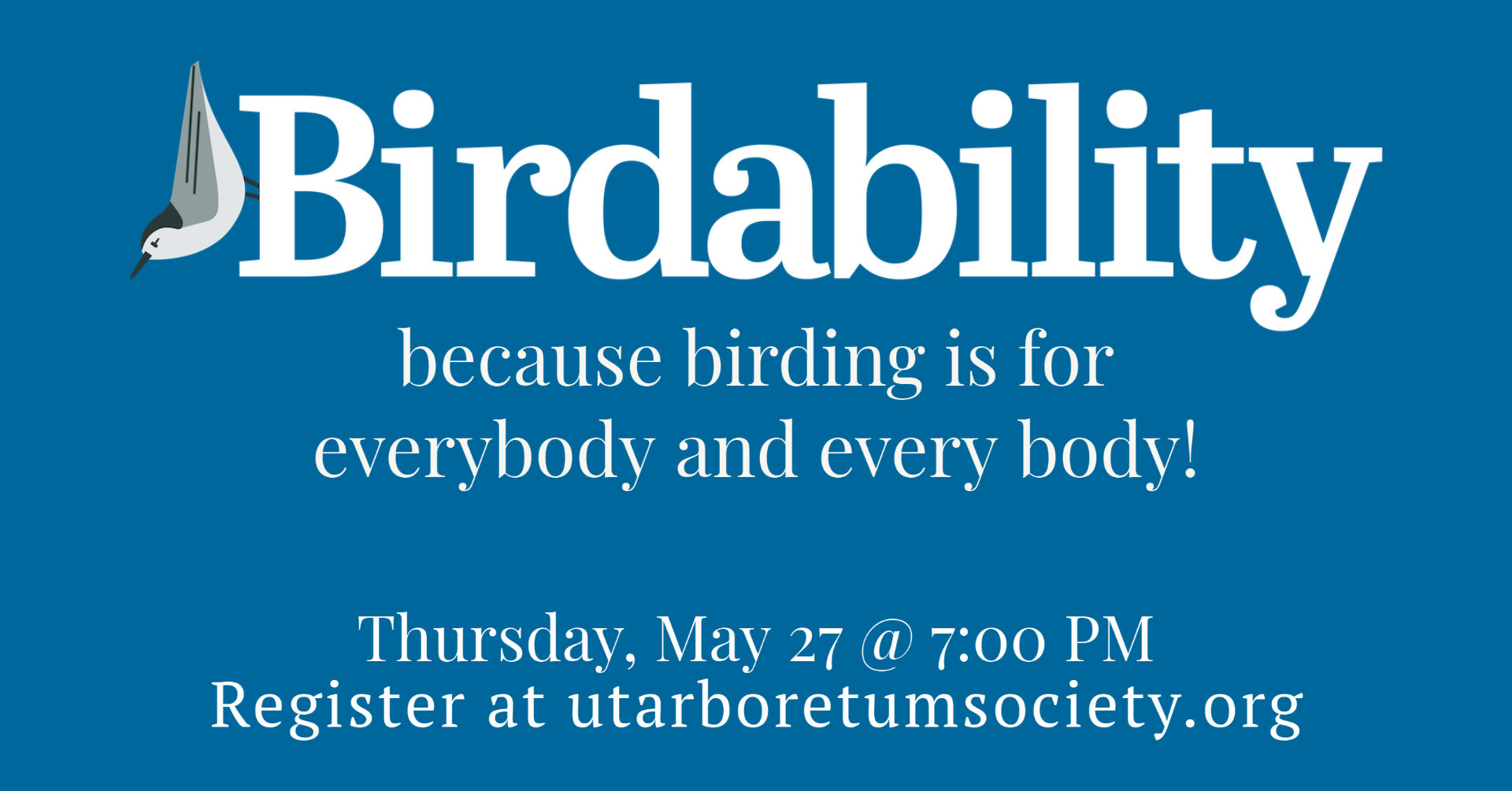 Birdability: Because Birding is for Everybody and Every Body!