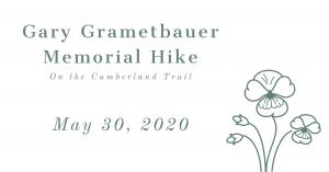 Gary Grametbauer Memorial Hike on Cumberland Trail