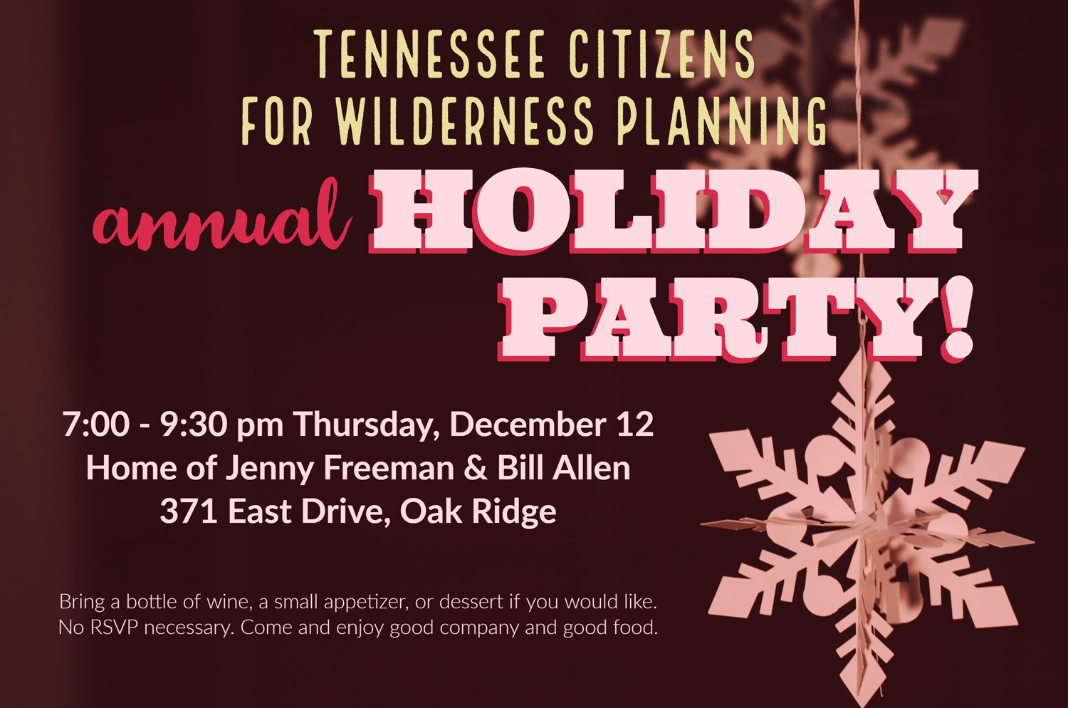 Annual Holiday Party