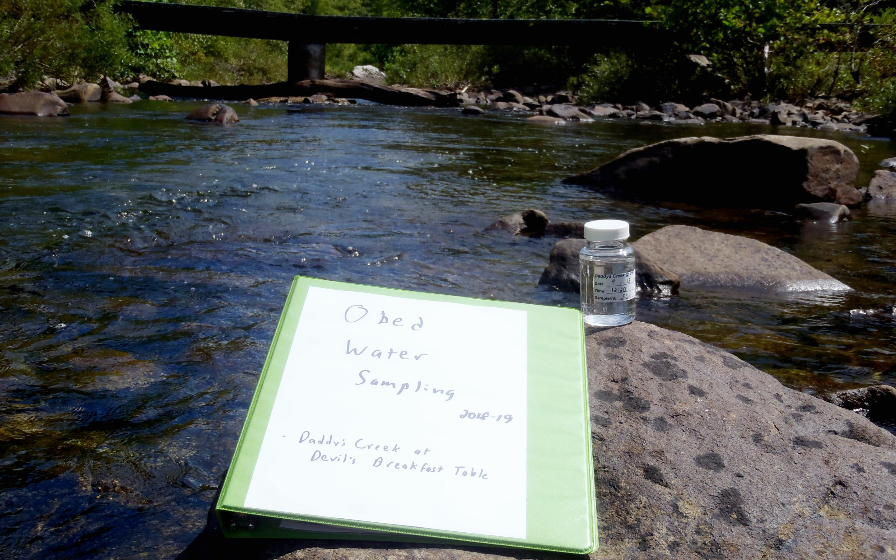 A Citizen Science Experience in the Obed Wild & Scenic River